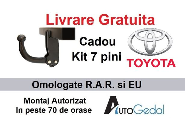 Carlig Remorcare Toyota Hilux Livrare Gratuita Omologat RAR si EU