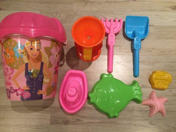Детски комплект за пясъчник на Барби