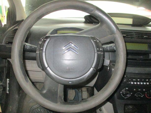 Volan complet airbag Citroen C4 original stare perfecta fara uzura