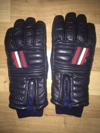 Ски ръкавици естествена кожа, ръкавици Fila и Gore-tex