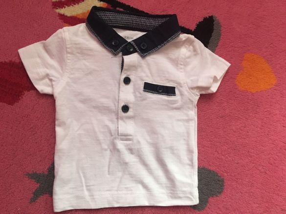 Тениска за бебе 0-3 месеца