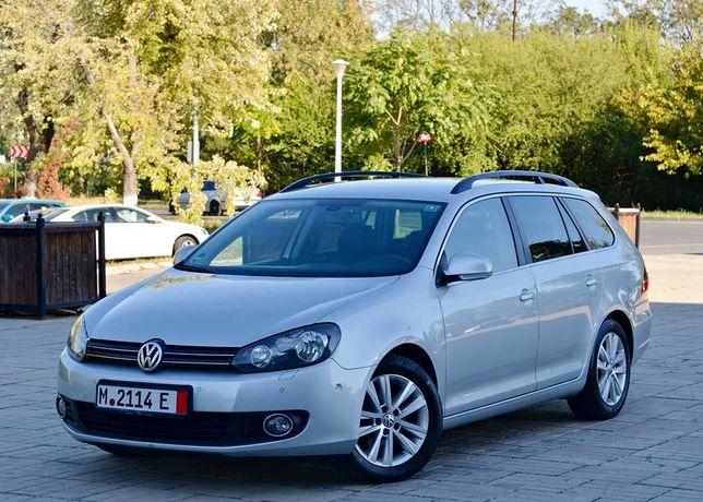 VW Golf 6 HighLine 1.6tdi C.R. 105cp EURO 5 Clima Navy ParkAssist