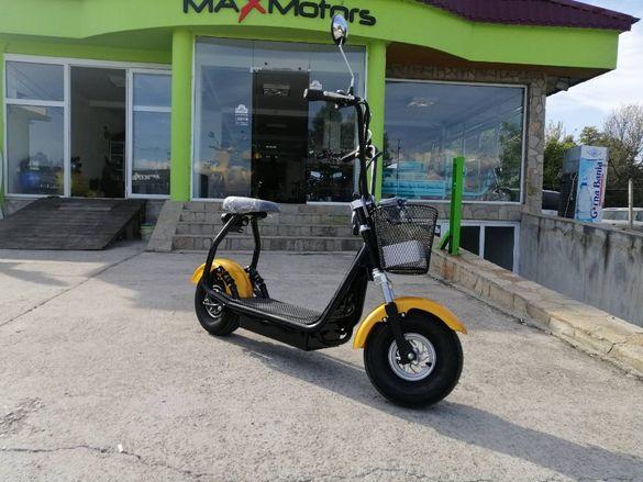 ПРОМО Електрически скутер Maxmotors Little City Harley 1200W