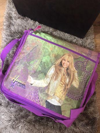 Geanta Hannah Montana copii model poștaș