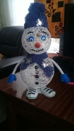 Снеговик под ёлку