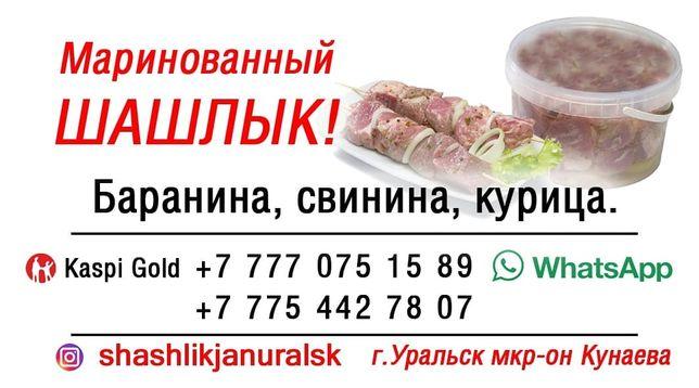 Шашлык маринованный г.Уральск 6мкр
