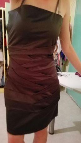 Намалена Нова Черна официална рокля Бсб