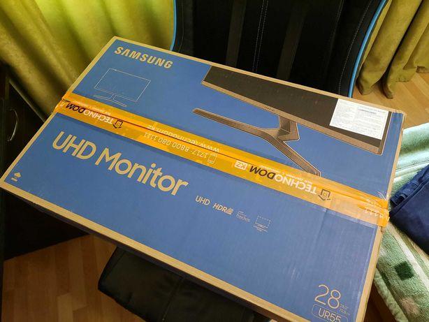 """4K монитор Samsung 28"""" с IPS панелью с поддержкой HDR"""