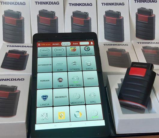 НОВИ!! ВСИЧКИ МАРКИ!! Launch Thinkdiag 4.0 Професионална автодиагности