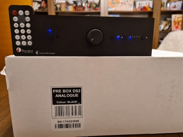 Preamplificator Pro-Ject Pre Box DS2 analogue