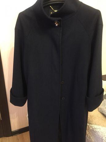 Пальто стильное кашемировое