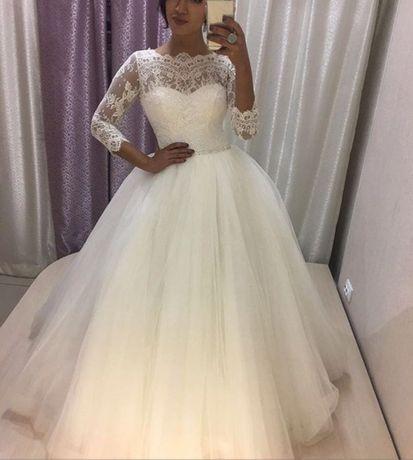 """Свадебное платье бренд """"Ivory"""" реальному покупателю хорошая скидка!!!"""