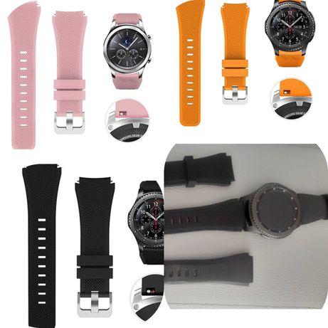 Силиконови каишки за часовник SAMSUNG GALAXY/Huawei watch 42mm./46mm.