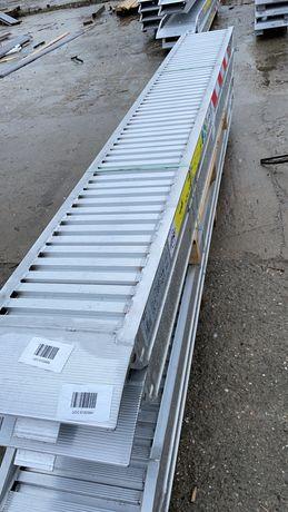 Rampe aluminiu incarcare utilaje 5tone - 2600ron