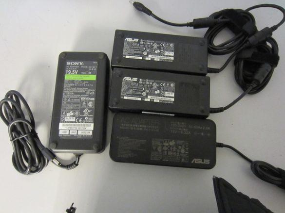Захранвания за лаптоп 120W за ASUS, TOSHIBA, SONY Работят на 100%.