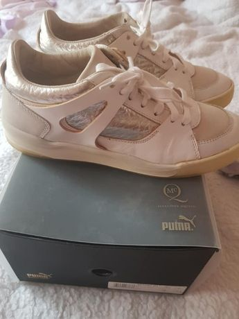 Sneakers Puma Alexander MCQUEEN din piele ,mar 40 ,dama