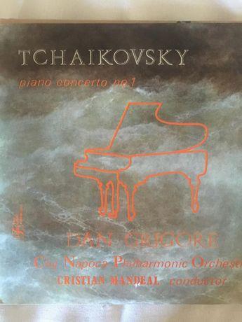 Viniluri Ceaikovski: Concert nr.1 pian; Simfonia nr.5