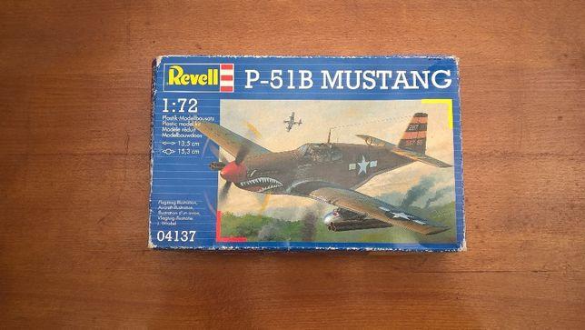 Macheta modelism, kit de construit Revell 1/72 P-51B Mustang