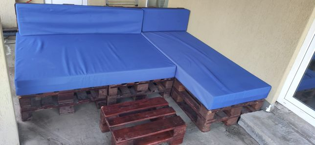 Mobilier terasă din paleți
