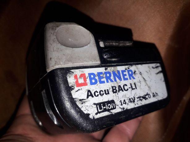 Acumulator Berner 14.4V/3ah Li-on