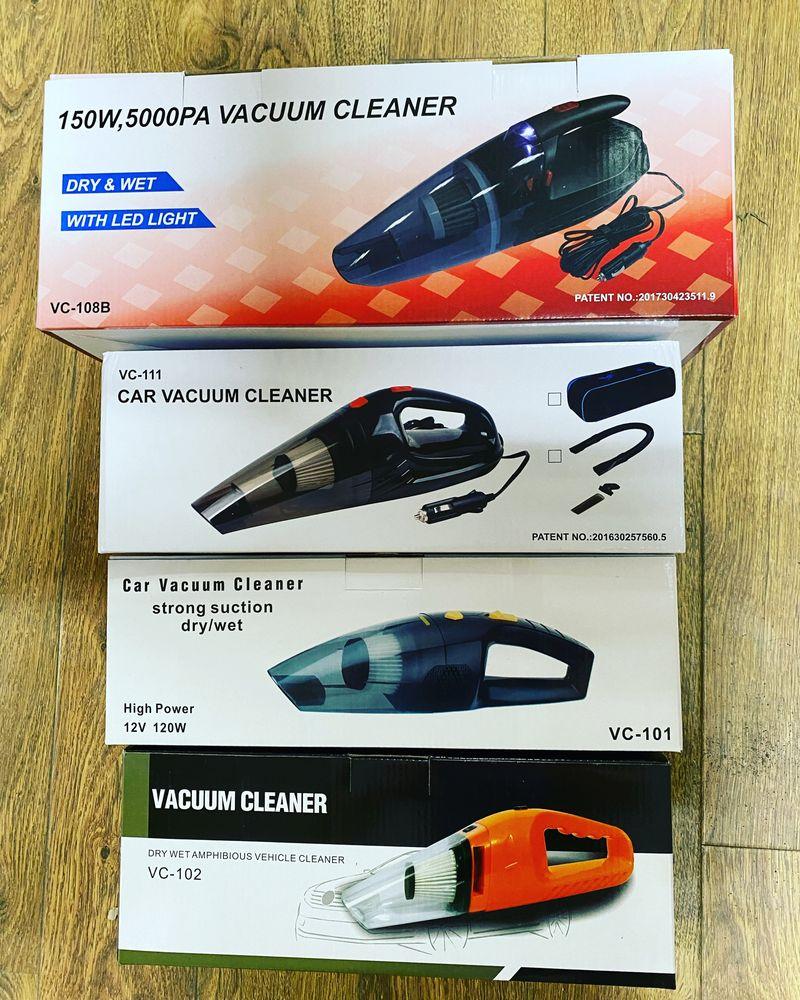 Автомобильные пылесосы