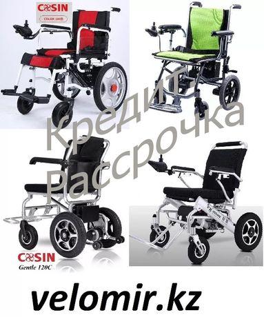 Инвалидные коляски, электрические. Подъемники. velomir.kz
