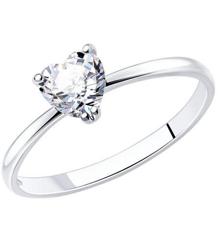 Кольцо Sokolov серебро