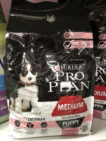 Корм для собак премиум Proplan Purina (Проплан)
