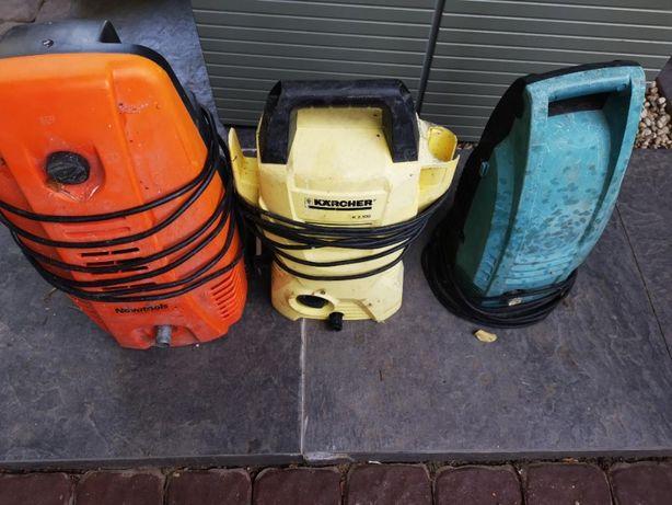 3 aparate spalare presiune Karcher Makita Novatools cu defecte