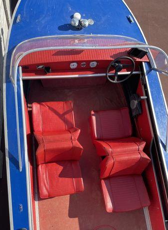 Barca Aluminiu Starkraft cu motor Suzuki 40CP