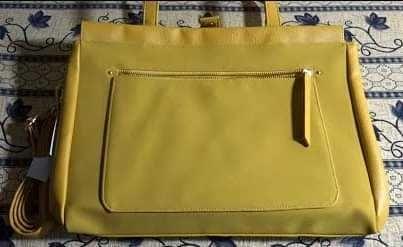 Дамска чанта, жълта