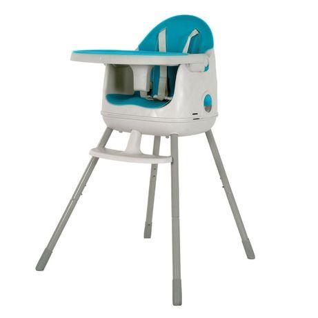 Scaun de masa pentru copii, reglabil 3-in-1, Keter Blue