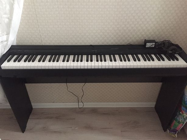 Цифровое пианино YAMAHA P-45B Black комплект