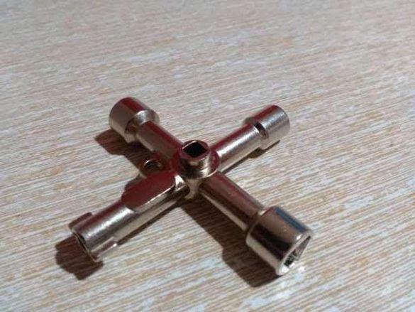 Универсален ключ за електрически табла и асансьорни врати