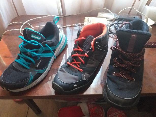 Lot ghete, bocanci, pantof sport 38-39