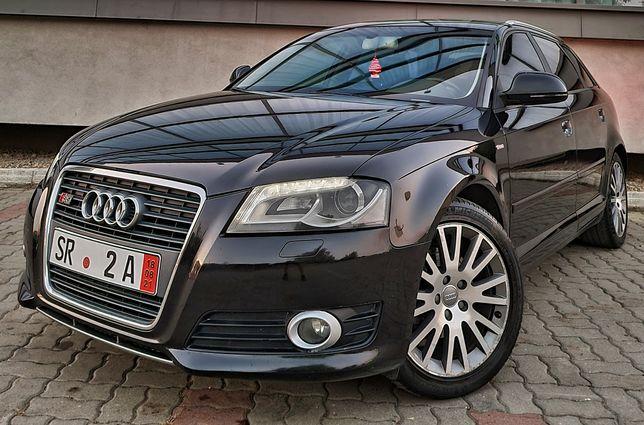 Audi A3 2010 2.0Tdi DSG Automat S-line Euro5 Xenon+Led/Navigatie/Pade