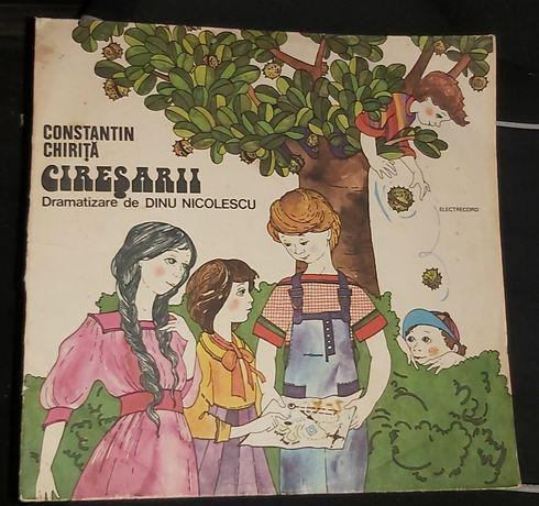 Vinil cu povesti Ciresarii