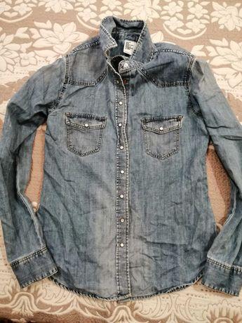 Дамска дънкова риза H&M