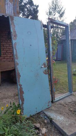 Дверь металлическая, квартирная