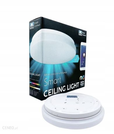Интелигентна лампа WIFI LED плафон RGB