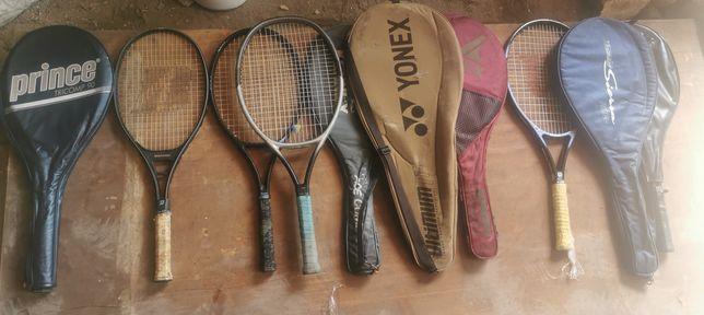 Теннисные ракетки Wilson yonex и др оригинал бу
