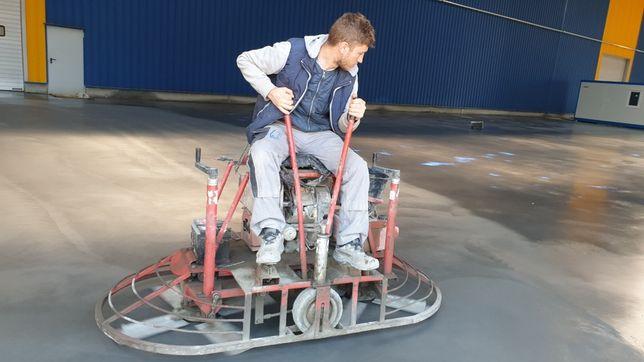 Turnare beton ciment sclivisit cu elicopter si cuart, finisat