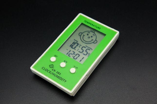 Термометр-гигрометр-часы электронные