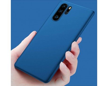 Husa Huawei P30Pro Ultra Slim Luxury Elegance Albastru