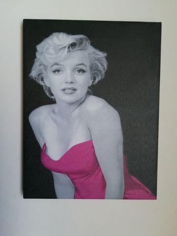 Tablou  foto Marilyn Monroe alb negru elegant cadou