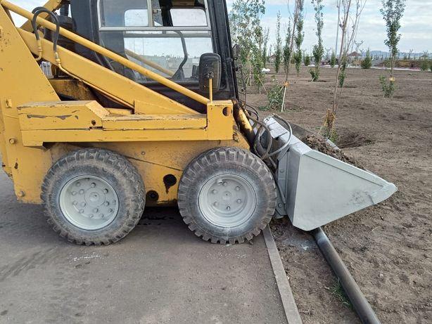 Услуги аренда мини погрузчика мксм-800 bobcat