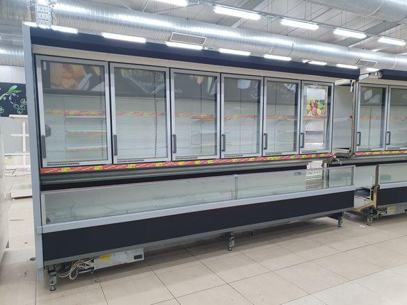Крайстенна минусова хладилна витрина