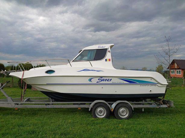 Barca cu cabina fara motor Saver Manta 21 Fisher