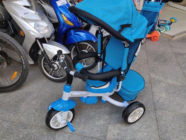 Tricicleta copii cu muzica si lumini LED