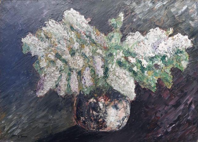 Paul Sima Ulei pe carton Dimensiuni 49 x 69 cm